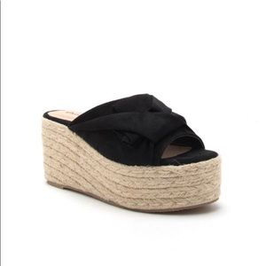 Shoes - Rope/Espadrille Wedge Sandals